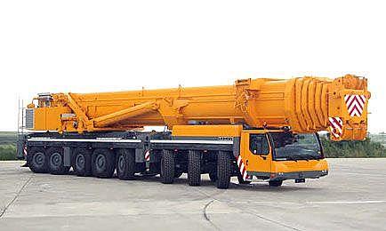 Autojeřáb 500 tun